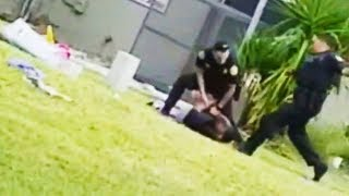 Cop Brutally Kicks Suspect In Face (VIDEO)
