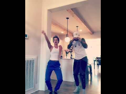 Kane brown dancing  with his fiancé katelyn jae