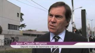 preview picture of video 'Nicolas Sarkozy à Dammarie-Les-Lys'
