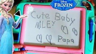 Frozen Zeichenbrett magnetisch Clementoni - magnetic drawing board - Kinderkanal