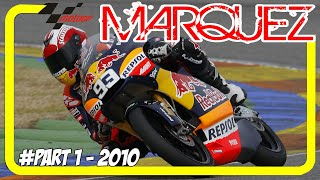 Marc Marquez – Best Skill and Hisrtory in MotoGP 2010 – Part 1