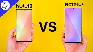Samsung Galaxy Note10 vs Samsung Galaxy Note10+  - Which One to Get?
