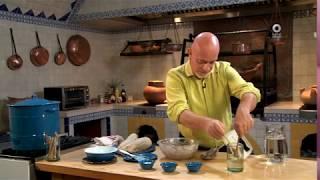 Tu cocina - Tortitas de brócoli en caldillo