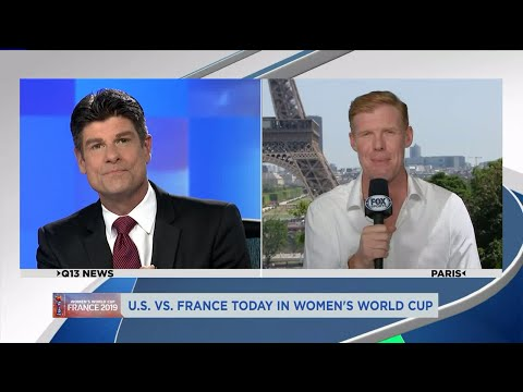 Interview with Alexi Lalas: Women's World Cup preview USA vs France