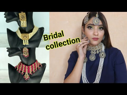 New bridal collection jewelry || shystyles orna || #shadisagaseries