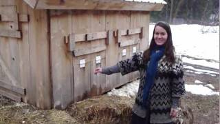 2 winter chicken coop / shelters