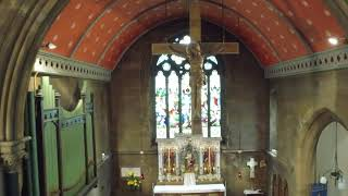 Drone Footage of Christ Church Tunstall