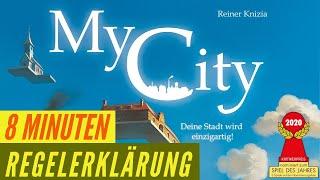 My City - Regeln - Aufbau - Anleitung - Regelerklärung - Nominiert Spiel des Jahres 2020