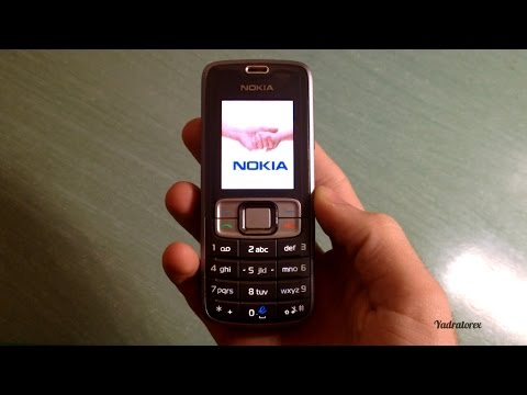 Nokia 3109c retro review (games, wallpapers and others) | 2007