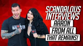 Scandalous Interviews Aaron from All That Remains about Headbangers Con!