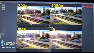 Security Camera Resolution Comparison: 720p, 1080p, 5MP, 4K, and 180 & 360 Panoramic 12MP