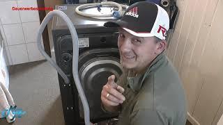 Waschmaschine Samsung WW80T654ALX Inox - Teil 1 - Instalation und Kalibrierung