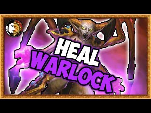 Hearthstone: 100% Winrate Vs Rogue - Heal Warlock