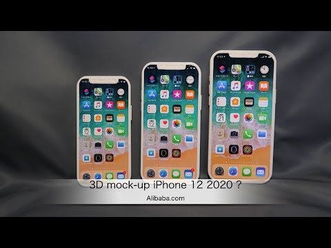 iPhone 12: primi mockup si mostrano in un video