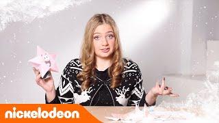 Блог Анфисы | Делаем звезду для ёлки | Nickelodeon Россия