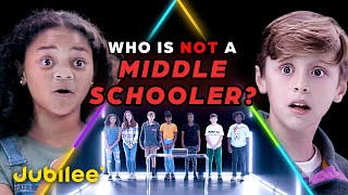 6 Middle Schoolers vs 1 Secret 5th Grader