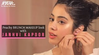 Get Ready With Janhvi Kapoor   Brunch Makeup Look   Nykaa