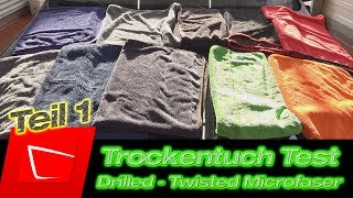 Trockentuch Vergleich - Gyeon Silk Dryer 83metoo Wonder Dryer Klin Korea Fireball Twisted Towel