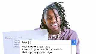Polo G Answers the Web's Most Searched Questions | WIRED