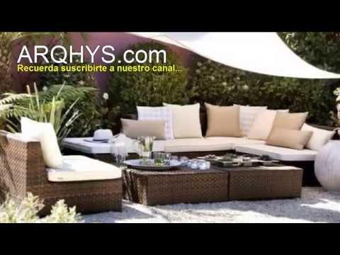 Decorar una terraza: Complementos, distribución de los muebles, plantas y estilo decorativo
