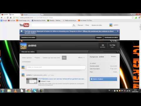 comment modifier son nom d'utilisateur sur youtube
