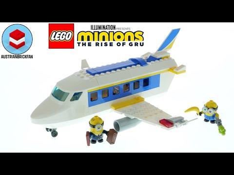 Vidéo LEGO Minions 75547 : Le Minion pilote aux commandes