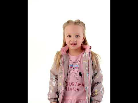 Куртка для девочки 1067SA21 Vulpes