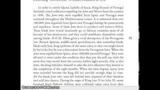 Expulsion of the Black Spanish and Portuguese Jews