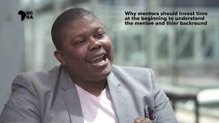 Why mentors should invest time at the beginning to understand the mentee and their background