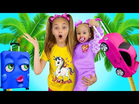 Sasha and Magical Transformations in Dolls   Compilation from Smile Toys Review for kids