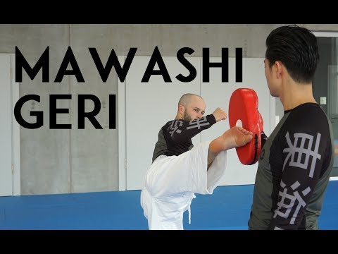 MAWASHI GERI - roundhouse kick - TEAM KI