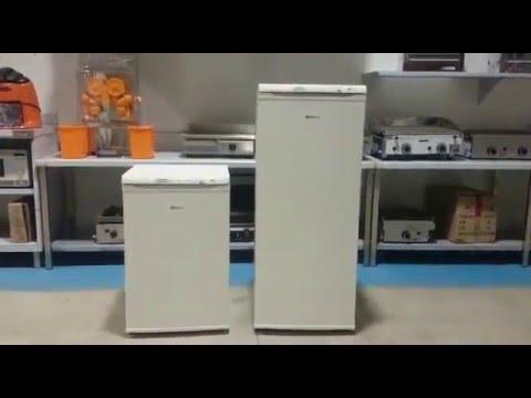 Congeladores verticales para uso profesional