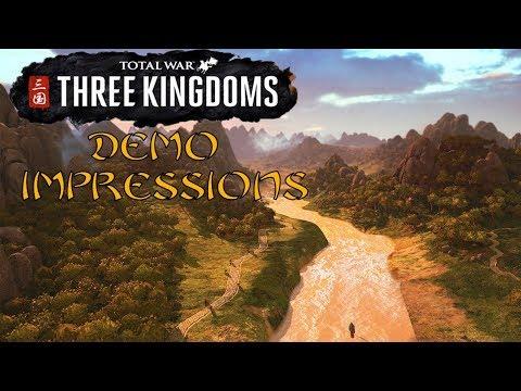 History Buffs: Total War Three Kingdoms Demo Impressions