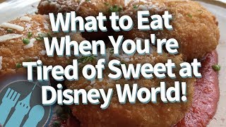 Best Disney World Savory Snacks For 2019!