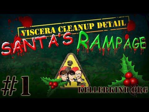 Putzen am Nordpol ★ #1 ★ Kellerkind.org putzt in Viscera Cleanup Detail: Santa's Rampage [HD|60FPS]