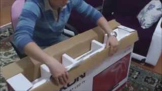 nexon tv  vestel  ürün kutu açılımı  nexon 40nx600 40â ³ uydu alıcılı akıllı tv