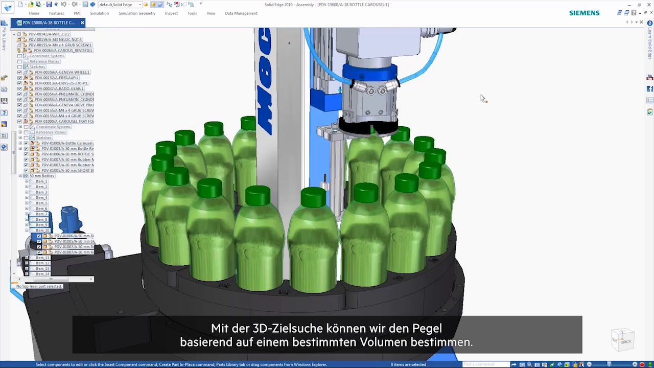 Vorschaubild: Solid Edge 2019: Mechanische Konstruktion