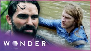Engineers Try To Escape Flash Flood On Hand-Made Raft (Part 1) | Escape EP3 | Wonder