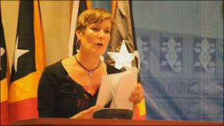 Kirsty Sword Gusmao  On International Tourism Conference 2016