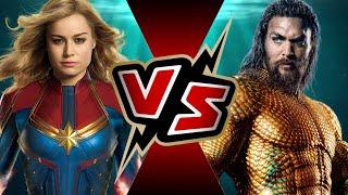 Aquaman VS Captain Marvel | BATTLE ARENA