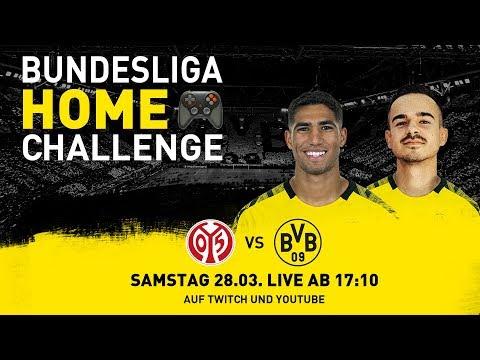 Bundesliga Home Challenge mit Achraf Hakimi & Erné! | FSV Mainz 05 - BVB | FIFA20