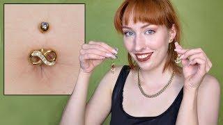 Belly Piercing | Lots Of Info & Jewelry Change