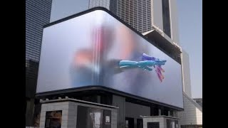 3d outdoor advertising led display screen,3d led display,3d led display globe youtube video