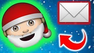 Sending a Letter to SANTA!