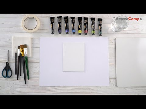 Acrylic Painting For Beginners Step-by-Step   ARTEZA ART CAMP