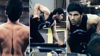 Actor Allu Sirish Latest Workout Video   Allu Sirish   Allu Arjun  
