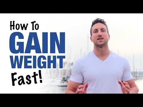 Video How To Gain Weight Fast: 3 Crazy Tricks That Work (Skinny Guys Only)
