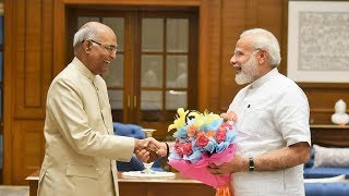 Shri Ram Nath Kovind gets elected as the 14th President of India