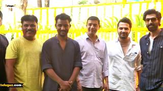 Vishwaksen's New Movie Pagal Launch Rana Daggubati Dil Raju