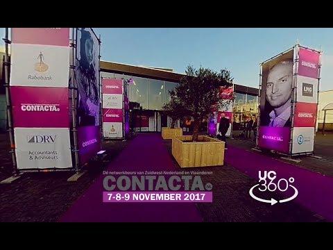 Contacta TV: opening Contacta 2017 in 360 graden